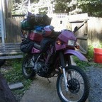 My KLR650 , 63,000 miles later