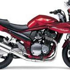 2008 Suzuki Bandit - last of the air cooled models