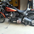 2002 Harley Davidson soft tail night train
