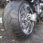 280mm rear tire almost finish