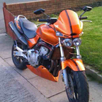 1999 Honda Hornet Streetfighter.
