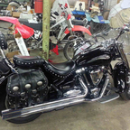 2005 Yamaha Road Star 1700 Midnight Silverado