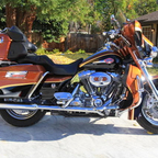 2008 Harley Davidson Custom Vehicle Operations Screamin Eagle Ultra 110 CI