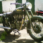 Royal Enfield Bullet 500.