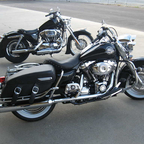 My Bikes 2005 1200 Custom Sportster and 2008 Roadking Classic