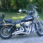 100 year anniversary edition Harley ~\'03 Dyna ...lots of miles, but still a sweet girl.