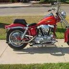 1974 Harley Davidson Antique Ironhead Customized
