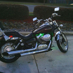 2009 Honda shadow spirit VT750C2