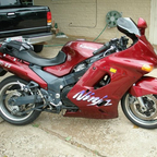 My ZX11, I have 3 of them.