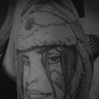 """My latest ink....<br />""""Tank Girl""""<br />On my upper right arm/shoulder<br />It\'s going to end up a TankGirl sleeve ..."""
