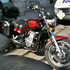 My last bike, the \'91 GSX1100G.  Sold it to get my latest baby