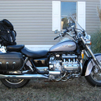 This is Baby, a 1999 Honda Valkyrie, She has done me well, rides like a cloud, and Looks Great.