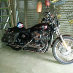 2006 Harley Davidson custom sportster. only 5300 miles on it