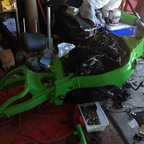 New frame and engine swap! This bike won\'t defeat me!!