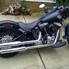 2012 Harley Davidson Slim