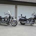 2005 Yamaha Road Star 1600 Silverado and V Star 1100 Silverado Classic