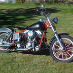 Here is my Holloween bike