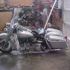 My stock \'77 bagger