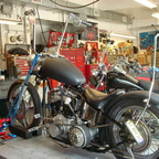 My 52 Panhead chopper