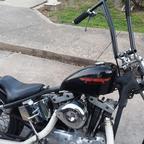 1976 Harley Davidson hardtail chop