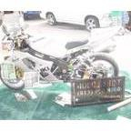 My baby at the 2009 Car & motorcycle show-Buc\'s stadium