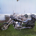 2007 JCM Johnny Peg custom Spider Chopper