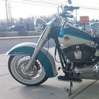 103 ci, \'58 panhead paint & emblems, Primo belt drive,  V&H shorty exhaust, HD super tuner