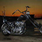 2006 Harley Davidson custom chopper