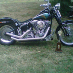 1996 Harley Davidson Bad Boy Springer FSTSB