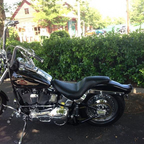 1998 Harley Davidson Black death softail