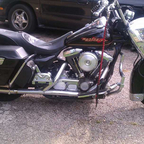 road king raked an stretched