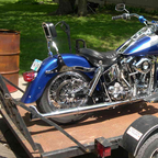 1980 Harley Davidson shouvel head