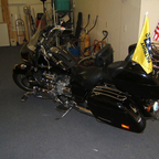 2000 Honda Valkyrie, 1500 cc; lots of extras and comfortable seats for long rides...
