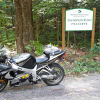 Ride to Thompson\'s Pond in Pine Plains NY