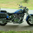 This was my first bike a 2000 Suzuki Marauder