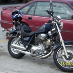 Yamaha XV750 1986, My Cruiser solo trip to Goldcoast last year