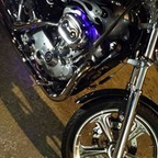 This is my 2001 HD 883 Sporty, had her for nearly 14 years!!  Heavily modified. :)