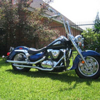 2002 Suzuki Intruder 1500 LC. Paint has been changed this ride a lot better than any Harley out ther ...