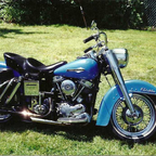 Big Blue, 2nd Harley of over 30 YRS.