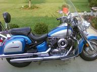 2000 Yamaha Vstar 1100 Blue n Silver