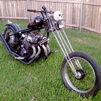 1970 Honda custom chopper