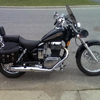 2003 Suzuki Savage - 650 single