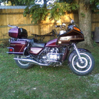 This is my primary ride. I also have a 1976 Goldwing that I ride a good bit.