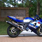 #3512 of only 5,000 made.  This is the 20th year Annivesary bike of the GSXR.