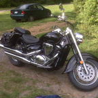 My brand new \'09 Suzuki Boulevard C-50 (800cc) Love this bike!!