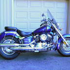 Purple, girlie bike! <br />my 2nd bike