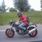 2002 Ducati Monster 750 Senna Edition