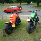 mines the orange one the green one is another i put together for a customer