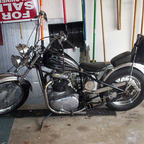 this is my BSA Chopper that i built