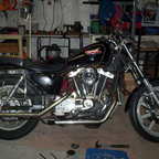 83 Sportster  Needs a few things to get it road worthy